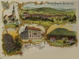 Postcard of Oberelsbach at about 1900