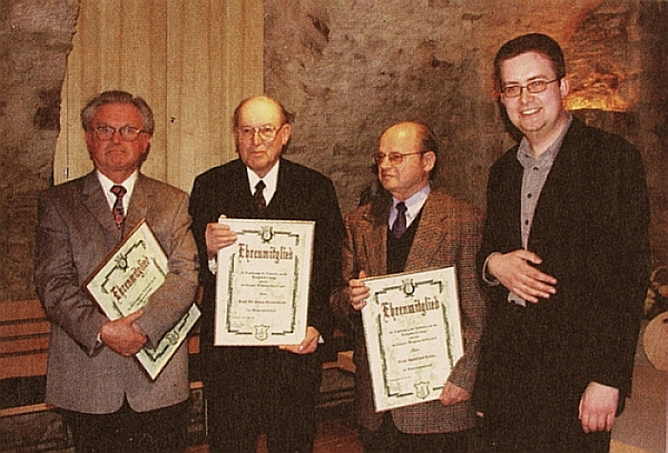 Honorary Members of the Valentin-Rathgeber-Society e.V. 2002